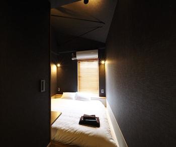 スタンダード ダブルルーム 専用シャワー|Yumoto Station Hotel MIRAHAKONE