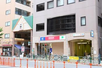 ICI HOTEL UENO SHIN OKACHIMACHI BY RELIEF Exterior detail