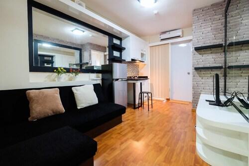 Modern Design 2 Bedrooms at Bassura City Apartment, Jakarta Timur