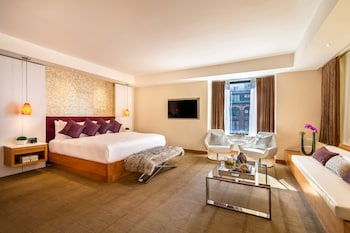 Guestroom at Concorde Hotel New York in New York
