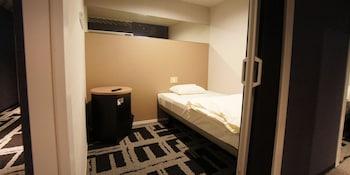 キャビン 女性限定 共用バスルーム|5㎡|ホテルアベストグランデ岡山