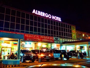 BAGUIO SUITES @ ALBERGO RESIDENCE Front of Property - Evening/Night