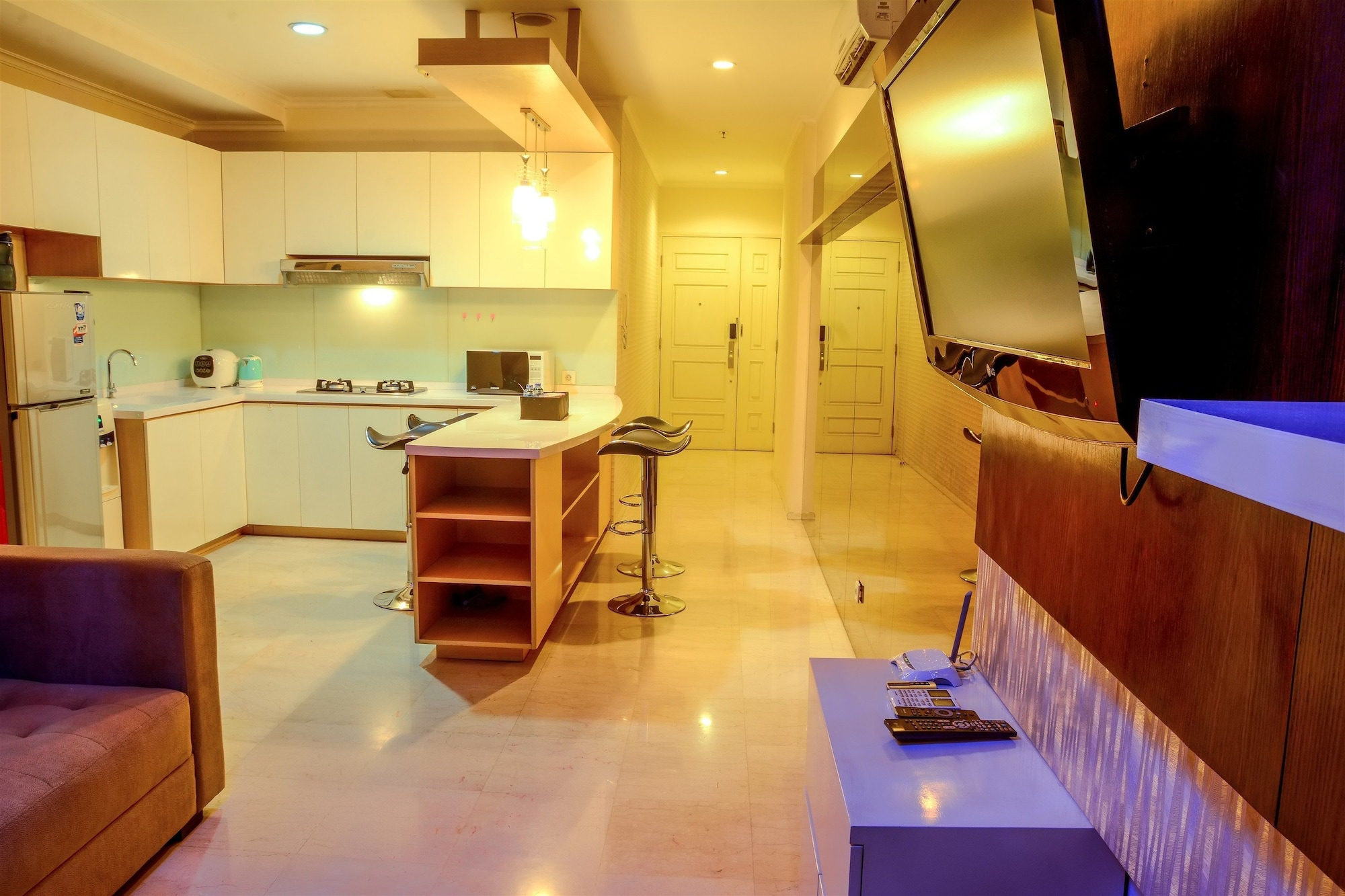 2 Bedrooms Apartment at FX Residence by Travelio, Jakarta Pusat