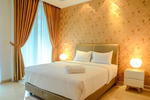 3 Bedrooms at Apartment Sudirman Residence by Travelio, Jakarta Selatan