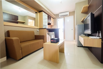 Homely 2 Bedroom at Bassura City Apartment By Travelio