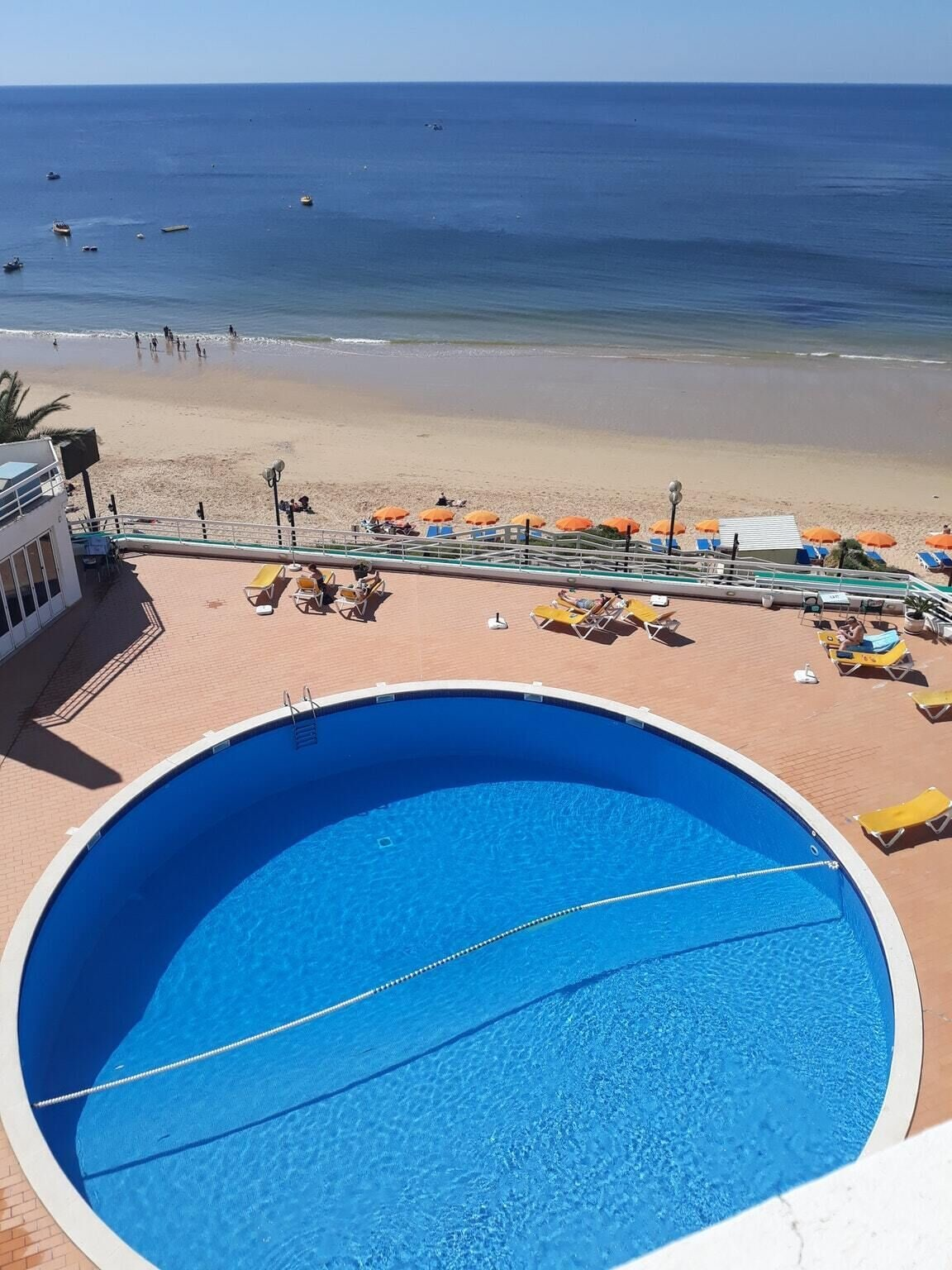 Apartment With one Bedroom in Albufeira, With Wonderful sea View, Shared Pool, Balcony - 500 m From the Beach, Albufeira