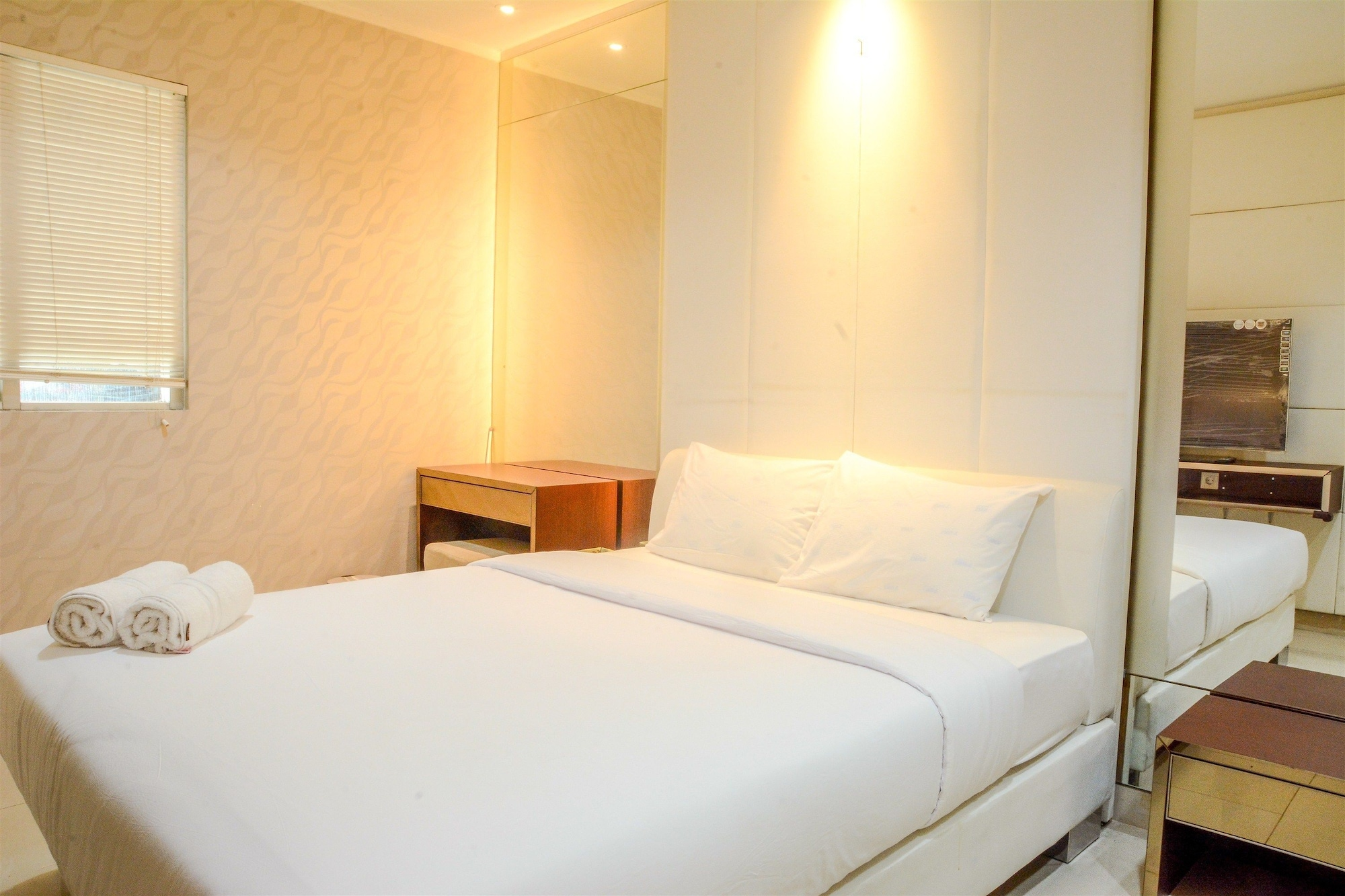 2 Bedrooms Apartment at Sahid Residence by Travelio, Jakarta Pusat