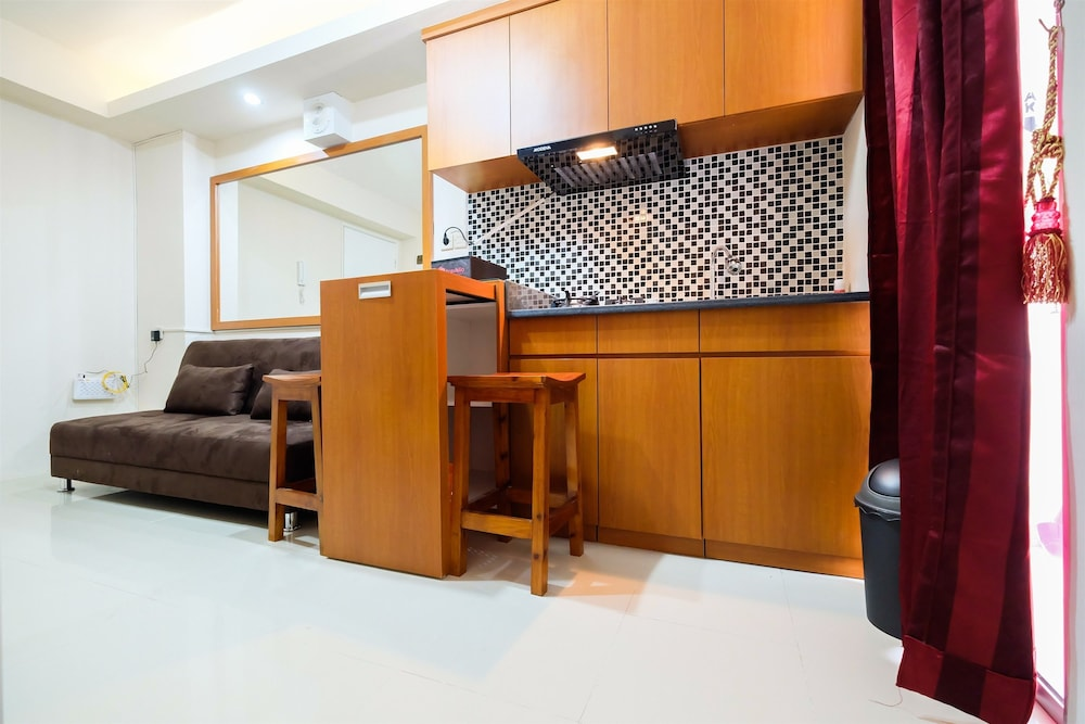 Pleasant 2 Bedrooms at Bassura City Apartment By Travelio