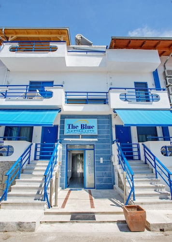 . The Blue Apartments and Beach