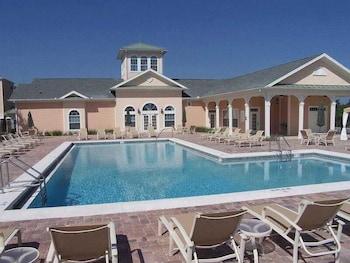 Pool at Secret Lake Resort in Celebration