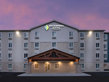 Exterior at WoodSpring Suites Washington DC East Arena Drive in Hyattsville