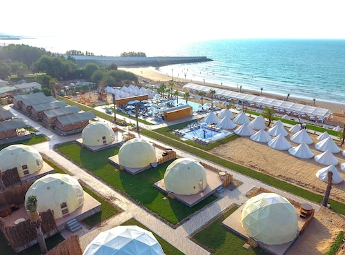 Ras al-Chajma - The Longbeach Campground - z Katowic, 31 marca 2021, 3 noce