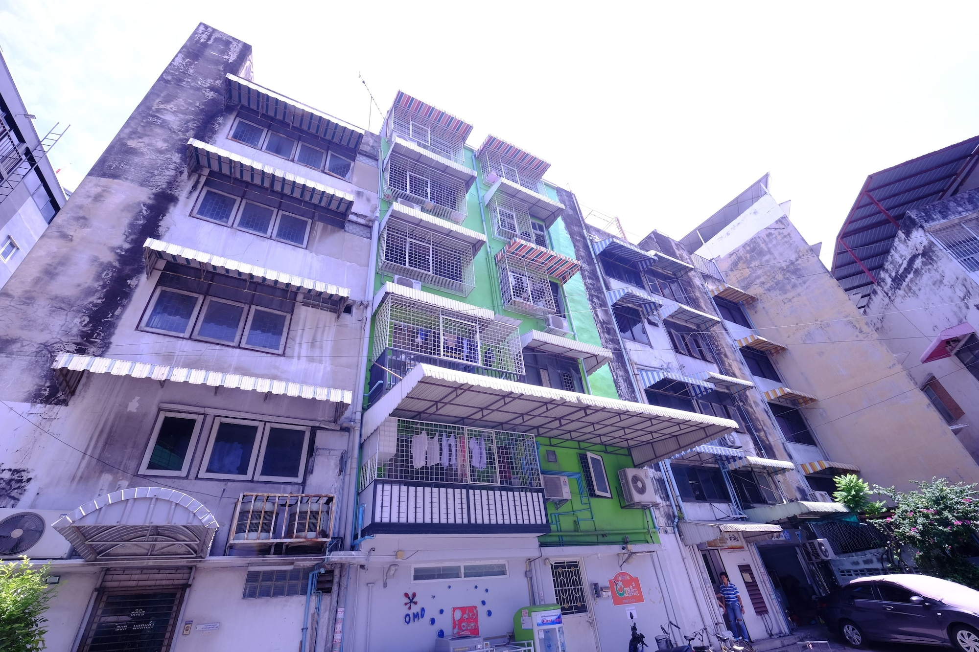 Orion Apartment, Din Dang