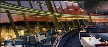 Restaurant at Essential Hotel by Stratosphere in Las Vegas