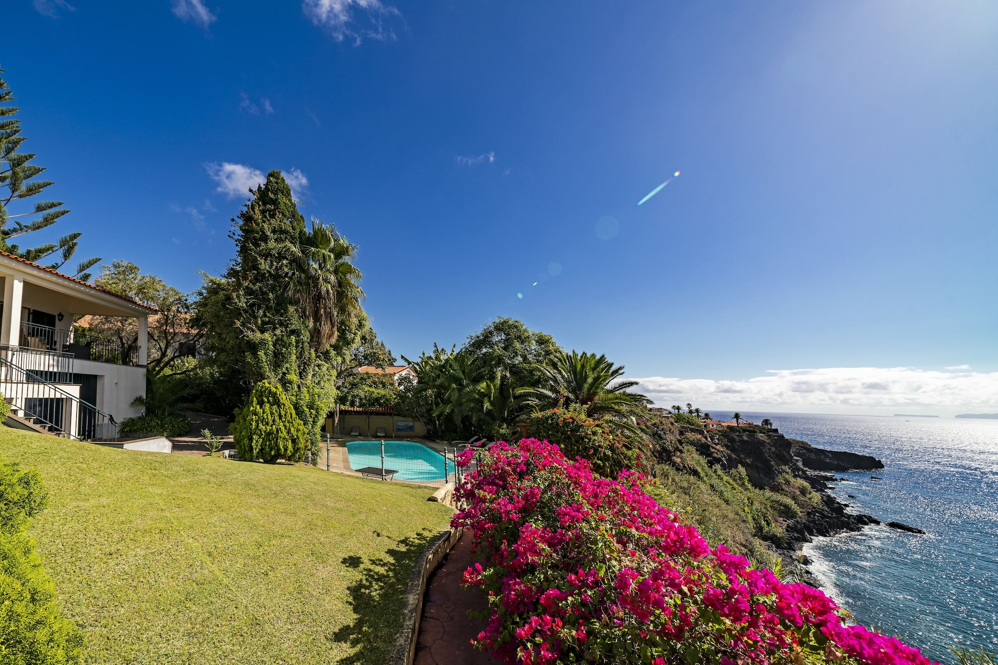Villa Albatroz, Santa Cruz