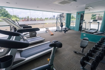 PADGETT PLACE - DELUXE SUITES Gym
