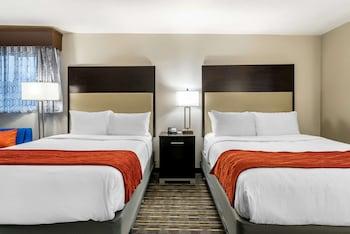 Basic Double Room, 2 Queen Beds, Non Smoking
