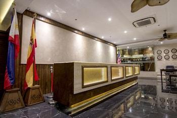 1898 HOTEL COLONIA EN LAS FILIPINAS Reception