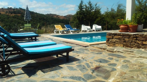 House With 2 Bedrooms in Odemira, With Wonderful Mountain View, Pool A, Odemira
