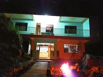 SEE TOO VILLE - STV HOME - HOSTEL Front of Property - Evening/Night