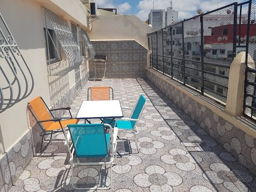 . Rabat terrace apartment