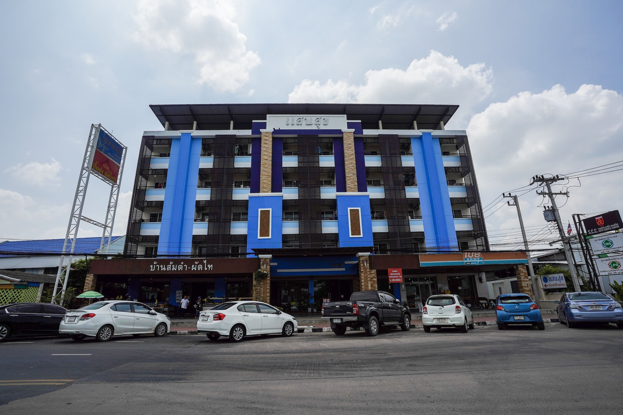 Sansuk Apartment, Muang Pathum Thani