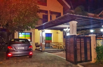 TALISAY LAKESIDE VILLAS Front of Property - Evening/Night