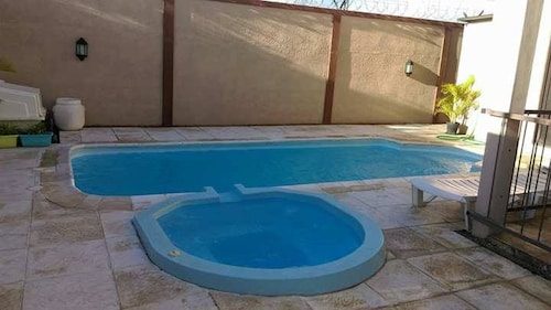 House With 4 Bedrooms in Mont Choisy, With Private Pool, Enclosed Gard,