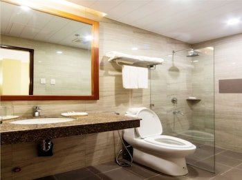 APARTEL UNITS BY V HOTEL AND APARTEL Bathroom