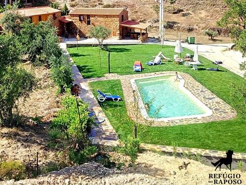 Villa With 2 Bedrooms in Montes da Senhora, With Wonderful Mountain Vi, Proença-a-Nova