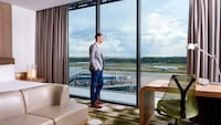 Premier Room, 1 King Bed, Non Smoking, View (Runway View)