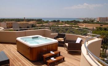 Luxury Duplex, Hot Tub