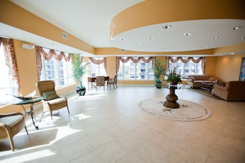 Lobby at Horizon at 77th in Myrtle Beach