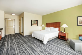 Deluxe Suite, 1 King Bed, Accessible, Shower