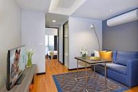 Deluxe Apartment, 1 Bedroom, Kitchen