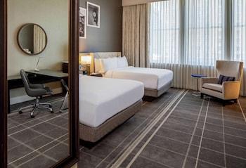 Deluxe Room, 2 Queen Beds, Accessible (Executive floor, Hearing accessible)