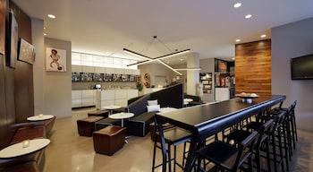 Lobby Lounge at NU Hotel Brooklyn in Brooklyn