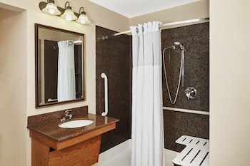 Studio Suite, 1 Queen Bed, Accessible, Kitchen (Hearing, Roll-In Shower)