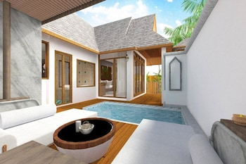 Luxury Villa, 1 Bedroom (Suite Cottage)