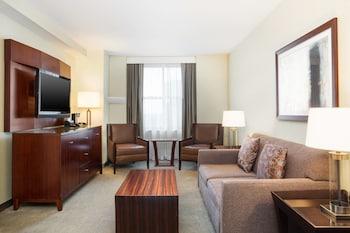 Executive Suite, 1 Bedroom, Non Smoking (club executive)