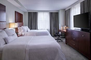 Premium Room, 2 Double Beds, Non Smoking, City View (SW-M)