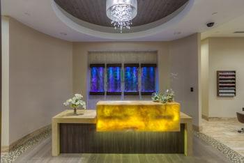 Recepción del spa
