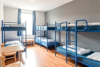 Shared Dormitory, Mixed Dorm (Bed in 6 Bed Dorm, Linen Not Included)