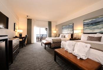 Panoramic Room, 2 Queen Beds, Patio, Ocean View