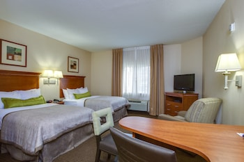 Room, 2 Double Beds, Accessible, Non Smoking (Hearing)