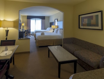 Guestroom at Holiday Inn Express & Suites, International Drive in Orlando
