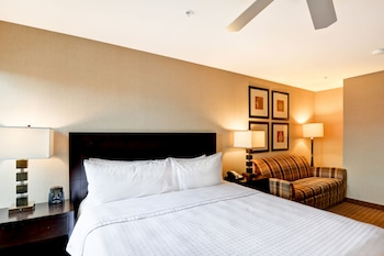 Guestroom at Homewood Suites by Hilton Silver Spring in Silver Spring