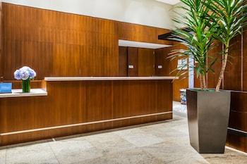 Reception at Hilton Garden Inn New York/West 35th Street in New York