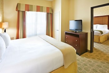 Guestroom at Holiday Inn Express & Suites Dallas Fair Park in Dallas
