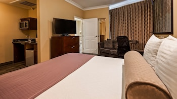 Suite, 1 Queen Bed, Accessible, Refrigerator & Microwave